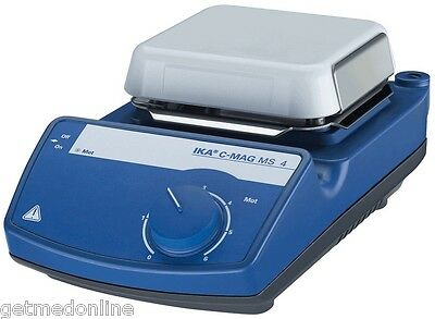 Ika C-mag Ms4 Ikamag Magnetic Stirrer 100-1500rpm 4 Ceramic Plate 3582201