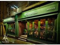 KITCHEN PORTER NEEDED FOR KOH THAI TAPAS!!