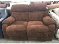 DFS Newbury 2 seater fabric recliner sofa
