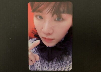 BTS-LOVE YOURSELF ANSWER S VERSION SUGA PHOTO CARD
