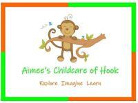 Ofsted Registered Childminder in Hook
