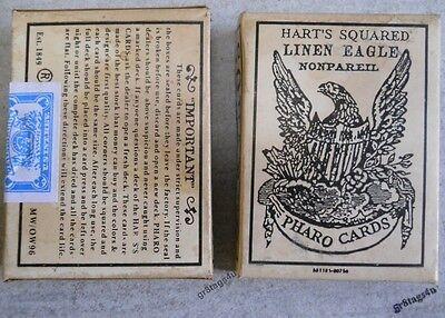 Playing Card Box (Pharo playing cards Faro 1800's western cowboy sealed)