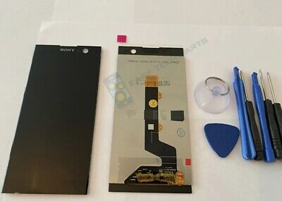 BLACK Sony Xperia XA2 Assembly LCD Digitizer Screen Replacement OEM H3113 H4133