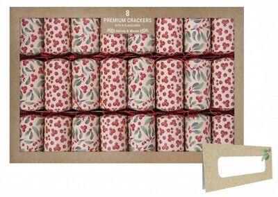 Harvey & Mason Premium Christmas Berry Christmas Crackers Jumbo Crackers