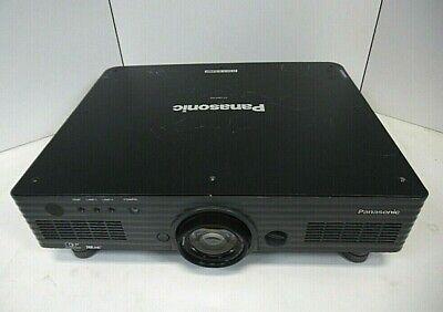 DLP Projector (Panasonic PT-DW5100U) Dual Lamp WXGA 5500 VGA-DVI W/ 2 Lamps