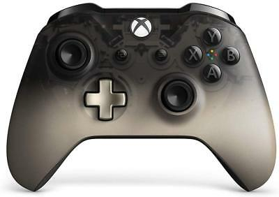 Genuine Microsoft Xbox One Wireless Controller Phantom Black Special Edition VG