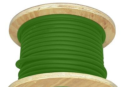 100 20 Awg Welding Cable Green Flexible Outdoor Wire Durable New