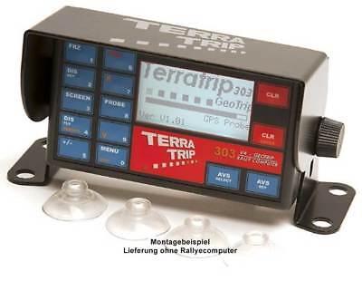 Halter für Terratrip Rallyecomputer V4 und Geotrip, rallye, raceparts.cc