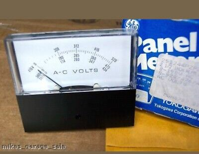 0-520476434 Ac Volts 251244pzpz7jbs Yokogawa Voltmeter 2-12 Nos