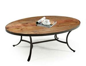 About Reclaimed Wood Coffee Table Restoration Style Metal Hardware