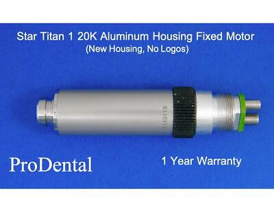 Star Titan 1 - 20000 Rpm Fixed Back End Dental Handpiece Motor New Housing