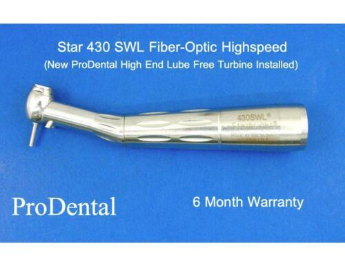 Star 430 SWL Brand Lube Free Fiber-Optic Dental Highspeed Handpiece - ProDental