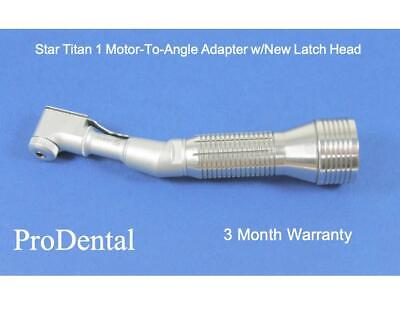 Star Titan 1 Brand Motor To Angle Dental Handpiece Adapter W New Latch Head