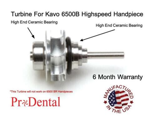 Turbine For Kavo 6500B Push Button Dental Highspeed Handpieces - ProDental