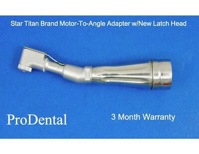 Star Titan Brand Motor-to-angle Dental Handpiece Adapter Wnew Latch Head
