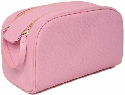 Pig With Makeup (SHANE X JEFFREE PINK DOUBLE ZIP MAKEUP BAG with Pink Pig Design Shane)