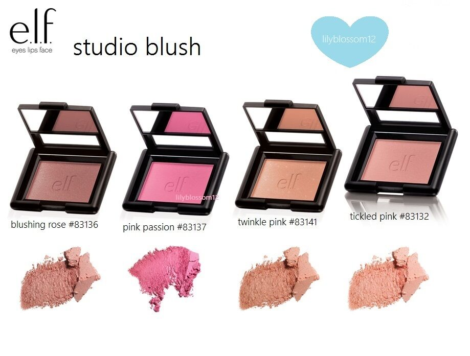 e.l.f. studio BLUSH elf Makeup Highlighter Glow Pick Your Sh