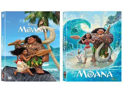 Moana  2017  Blu Ray  Lenticular Full Slip Steelbook   Kimchidvd