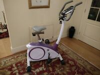 Kelly Holmes Exercise Bike for SALE Model : YK-BK8601 Superb Condition