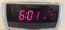Emerson Research CKS2288S SmartSet Dual Alarm Clock AM/FM Radio JUMBO DISPLAY