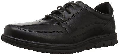 2903bdb57c545  79.19 - Men s Timberland Huntington Drive Oxford Shoes Black Leather A1JOT