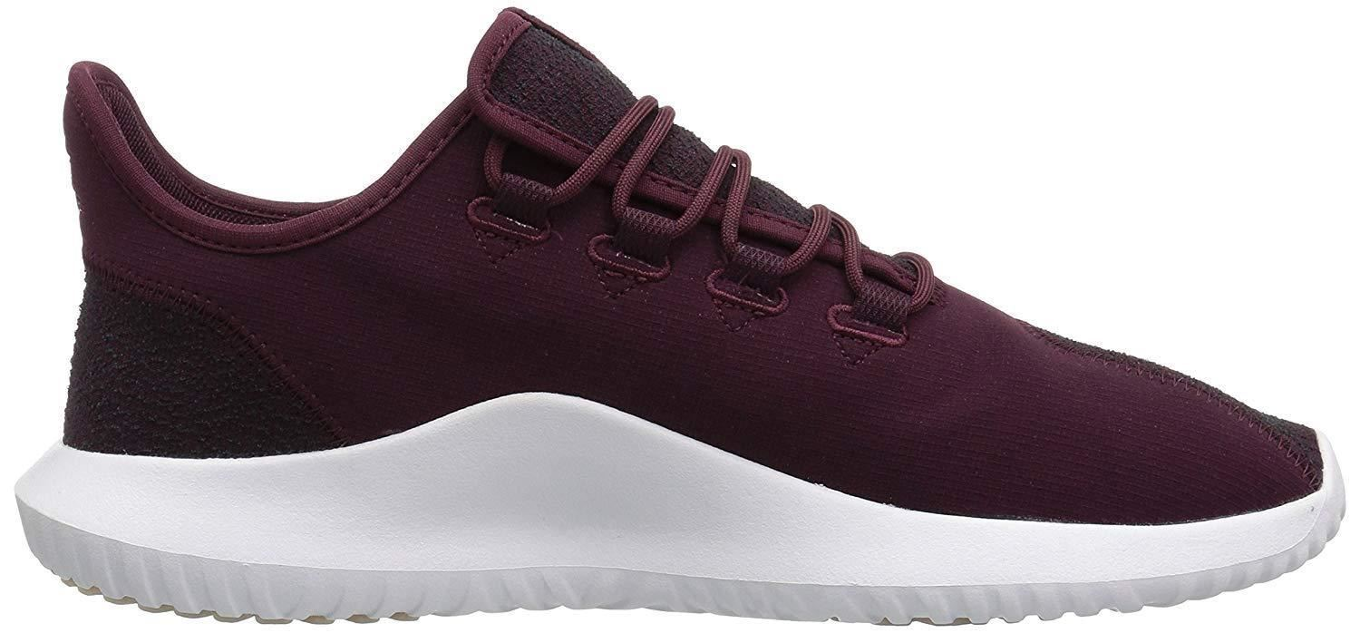 Men Athletic Sneakers Adidas Running Shoes Tubular Shadow CK Maroon Red CQ0927 1