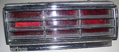 1966 OLDSMOBILE 88 TAIL LIGHT ASSEMBLY RIGHT - GUIDE 35 - 5957842 - OLDS - O21