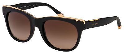 Tory Burch Sunglasses TY 9043 152213 53 Matte Black / Gold   Brown Gradient (Tory Burch Sunglass)
