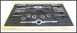 TRIUMPH-NORTON-BSA-17-PC-1-4-1-2-WHITWORTH-CEI-BSC-TAP-DIE-SET-TBS-0600