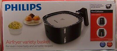 Philips Hd9980 Airfryer Variety Basket Silver Black
