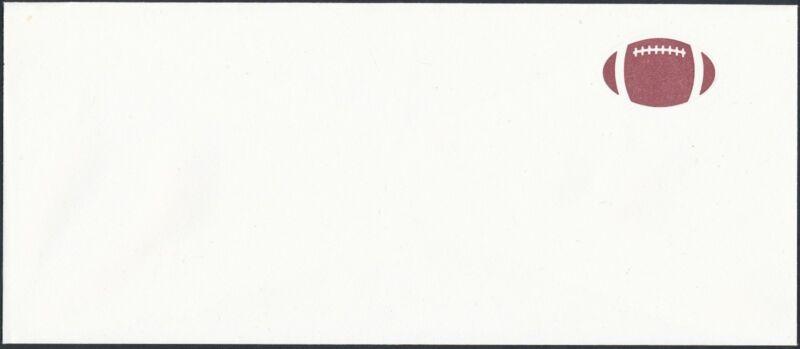"#u631a (black) ""29¢ Usa"" Omitted Error Entire - Football - Hv4526"