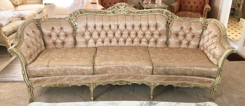 Light Pink Venetian Baroque sofa Sofa & Chair