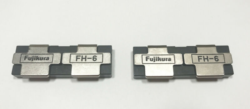 Fujikura FH-6 Fiber Holders for FSM-30R Fusion Splicer
