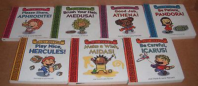 Lot of 7 Mini Myths Board Books by Joan Holub