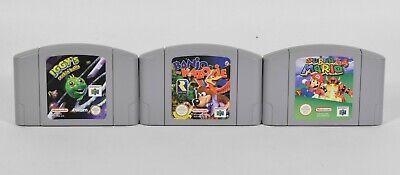 Nintendo N64,Super Mario 64 + Banjo-Kazooie + Iggy´s reckin´balls PAL,Module