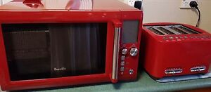 Breville Microwave & Breville Toaster Set- Cranberry Craigieburn Hume Area Preview