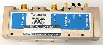 Tektronix 119-1640-01 A25 Harmonic Mixer Assembly 494a 494ap