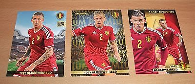 PANINI CARREFOUR LOT 11 39 120/180 BELGIAN RED DEVILS TOUS ENSEMBLE ALDERWEIRELD