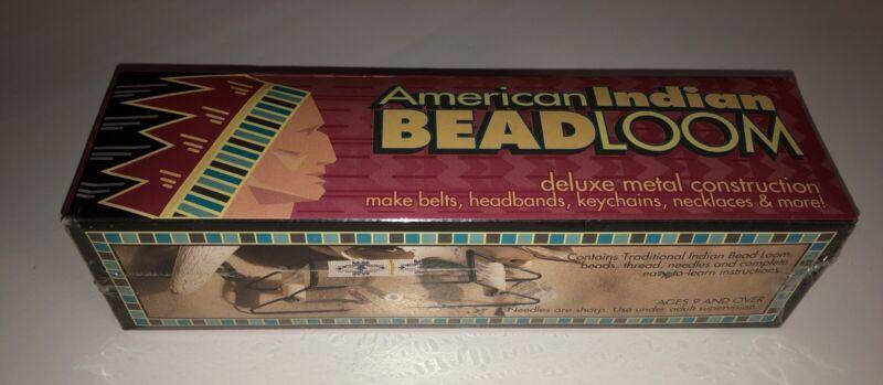 American Indian Bead Loom Kit Metal NIB