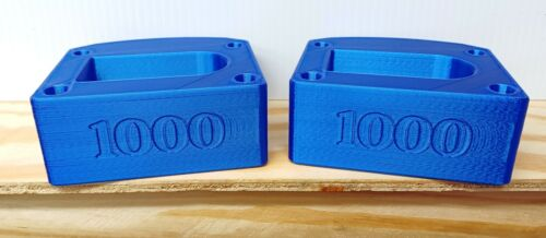 TurboSound- iP1000-series- Silk-Blue Pin-Protectors for a pair of  speakers