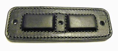 Magnet Concealment Leather gun holder rated 29 lbs by MagnaHide® No scratch! BLK