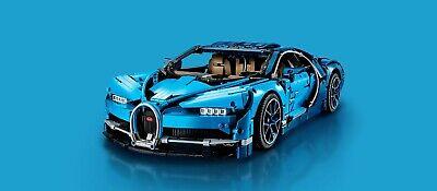 Custom Compatible LEGO Bugatti Chiron 42083   Technic