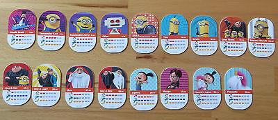 Rewe Minions 17 verschiedene Sammelkarten zur Auswahl ()