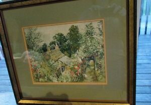Watercolour, Signed and Beautifully Framed Kitchener / Waterloo Kitchener Area image 3