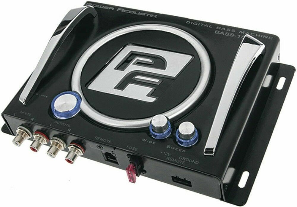 Photo POWER ACOUSTIK BASS-15C Digital Bass Processor Car Epicenter BX-15