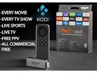 Kodi installations. Free access to movies/TV shows/music/sports.
