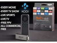 Amazon Fire Stick - Fully Loaded with KODI - Now including Modbro - Christmas - No More Bills!