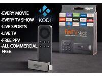Amazon Fire Tv Stick Fully Loaded With Kodi !!