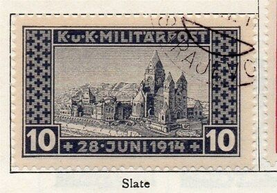 Bosnia Herzegovina 1917 Early Issue Fine Used 10h. 089468