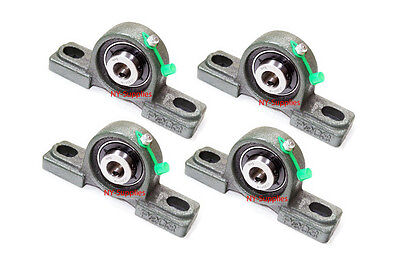 High Quality 12 Ucp201-8 Pillow Block Bearing With Grease Fitting Qty 4 2
